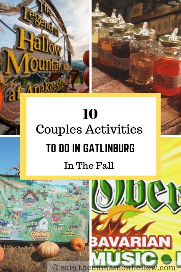 10 Couples Activities To Do In Gatlinburg In The Fall