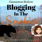 Introducing Blogging In The Smokies