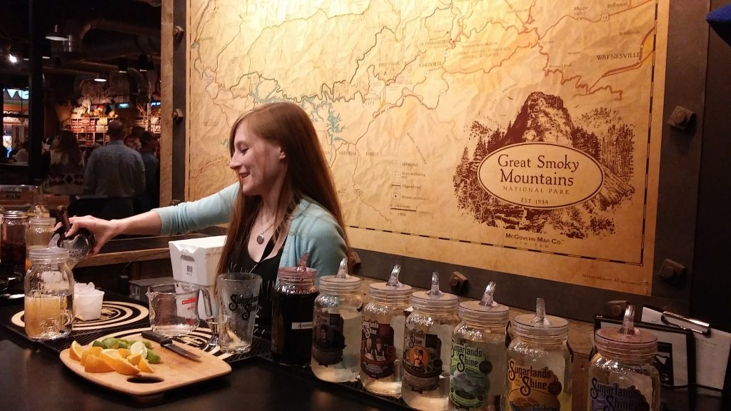 Sugarland's Moonshine Sampling